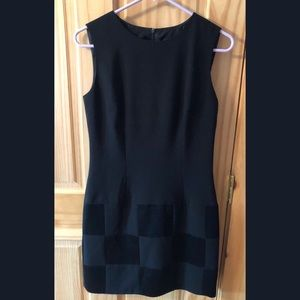 Vintage Laundry Shelli Segal Checker Print Dress